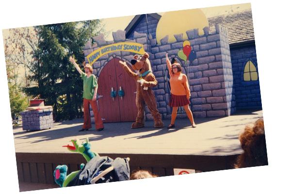 Melanie Tapson performing Scooby Doo